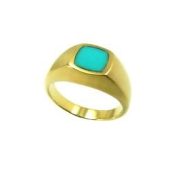 טבעת גולדפילד דגם ארבל טורקיז