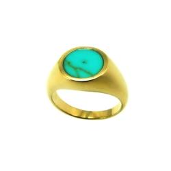 טבעת גולדפילד דגם חרמון טורקיז