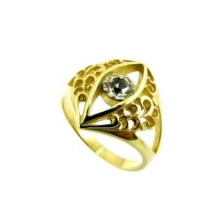 טבעת גולדפילד תחרה דגם עין