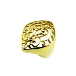 טבעת גולדפילד תחרה דגם נועה