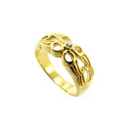 טבעת גולדפילד תחרה דגם דבש