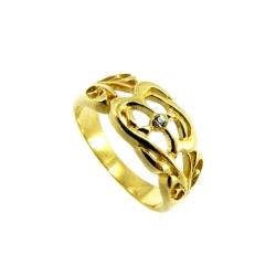 טבעת גולדפילד תחרה דגם ליפז