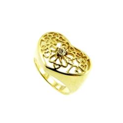 טבעת גולדפילד תחרה דגם רקפת