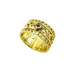 טבעת גולדפילד תחרה דגם איריס