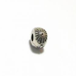 קליפס פרח מכסף 925 לצמיד
