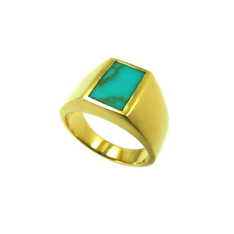 טבעת גולדפילד דגם לוטם טורקיז